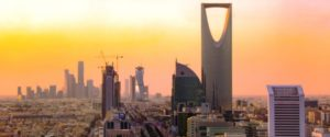 Skyline of Saudi capital Riyadh